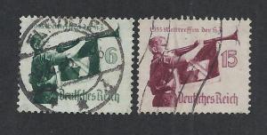 GERMANY SC# 463-4 FVF/U 1935