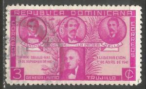 DOMINICAN REPUBLIC 369 VFU N901-2