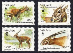 Vietnam MNH 2966-9 Horned Animal