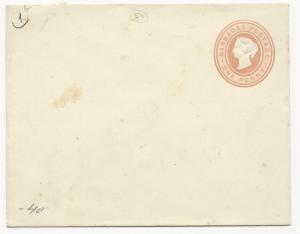 British Colonies Cover Barbados Scott #1b Postal Stationery Unused