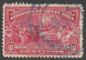 COSTA RICA 123 VFU COLUMBUS X850-3