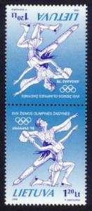 Lithuania Sc# 591a MNH Winter Olympic Games 1998 (Pair)