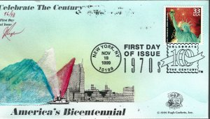 Beautiful Pugh Designed 3189f FDC Celebrate the Bicentennial...Only 98 created