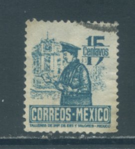 Mexico 825  Used