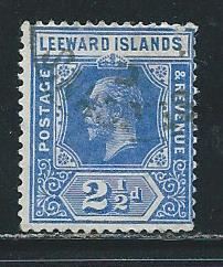 Leeward Islands 50 1912 2 1/2d KGV Used