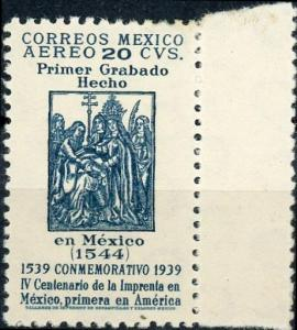 Mexico #C97 20c First Engraving Made in Mexico Unused/H