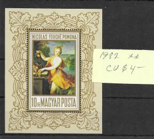 Hungary #1982 MNH - Sourvenir Sheet - CAT VALUE $4.00