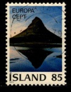 Iceland -  #499 Europa - Used