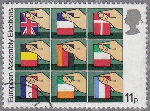 GB - 1979 - Scott #861 - used - European Parliament Elections