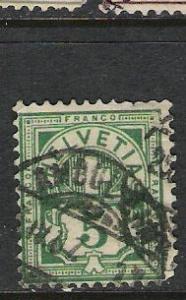 SWITZERLAND 115 VFU L165