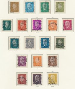Germany Stamps Scott #366 To 384, Used - Free U.S. Shipping, Free Worldwide S...
