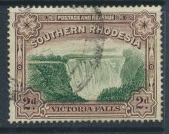 Southern Rhodesia SG 35a perf 14 Fine Used