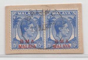 Malaya BMA - 1945 - SG 12 - Fine Used (Baling Cancellation)