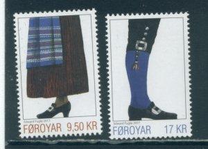 Faroe Islands 689-90  MNH