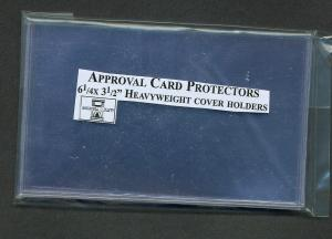 Approval Card Protectors, 10 Pkg, 01722