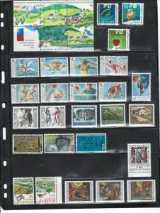 LIECHTENSTEIN 1999 COMPLETE YEAR $50.65 MNH
