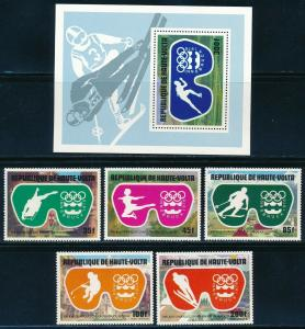 Burkina Faso - Innsbruck Olympic Games MNH Set (1976)