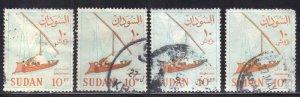 SUDAN SCOTT #156 1962 USED   SEE SCAN