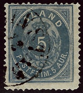 Iceland SCV#9 Used Fine SCV$825.00....Worth a Close Look!!