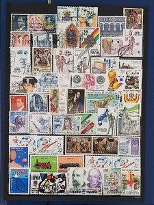 Lot Spain 1981-1984 used/unused