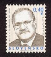 Slovakia Sc# 589 MNH President Ivan Gasparovic