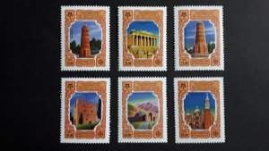 50th anniversary of EUROPA stamps - Kyrgyzstan - complete set perf. ** MNH