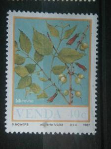 VENDA, 1987, MNH 40c, Food of the Veld, Scott 175 CV 1.00