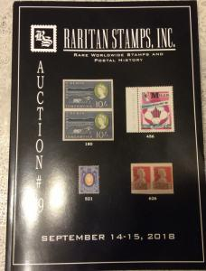 Raritan Action Catalogue # 79 Sep.14-15,2018,Rare Russian & Worldwide postage,