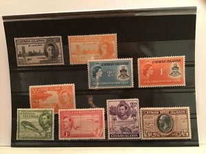 Cayman Islands mounted mint  stamps  R21920