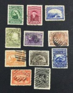 MOMEN: NEWFOUNDLAND #66-75,79 1897 USED £240 LOT #7014