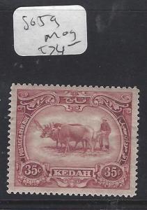 MALAYA  KEDAH  (P0609B)  35C  COW  SG 59     MOG