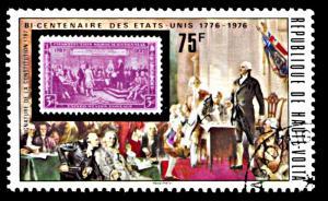 Upper Volta 354, CTO, United States Bicentennial
