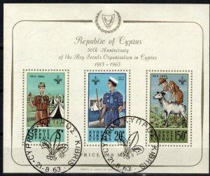 Cyprus #226a F-VF Used CV $175.00 (X2751L)