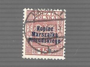 Poland 1935 - Scott #292 *