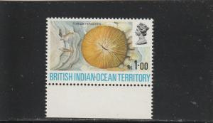 British Indian Ocean Territory  Scott#  46  MNH