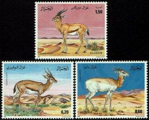 Algeria #954-56  MNH - Gazelles (1992)