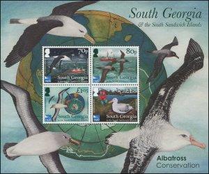 South Georgia & the South Sandwich Islands 2017 Sc 567a Birds albatross CV $10