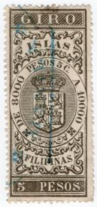 (I.B) Philippines (Spanish Colonial) Revenue : Internal Duty 5P