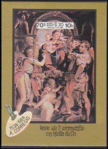 1984 Laos 765/B104 Artists / A. Correggio 6,00 €