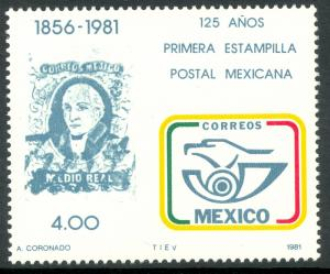 MEXICO 1981 POSTAGE STAMP ANNIVERSARY WMKD Issue Sc 1242a MNH