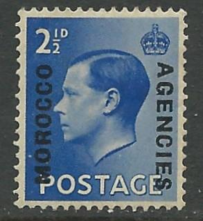Great Britain-Morocco # 245  Edward VIII (1)  VLH Unused