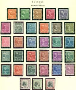 UNITED STATES COLLECTION 1847-1995, 3-ring Scott Specialty Albums Scott $19,874