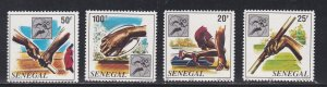 Senegal #  515-518, 1st African Sports Championships, NH, 1/2 Cat.