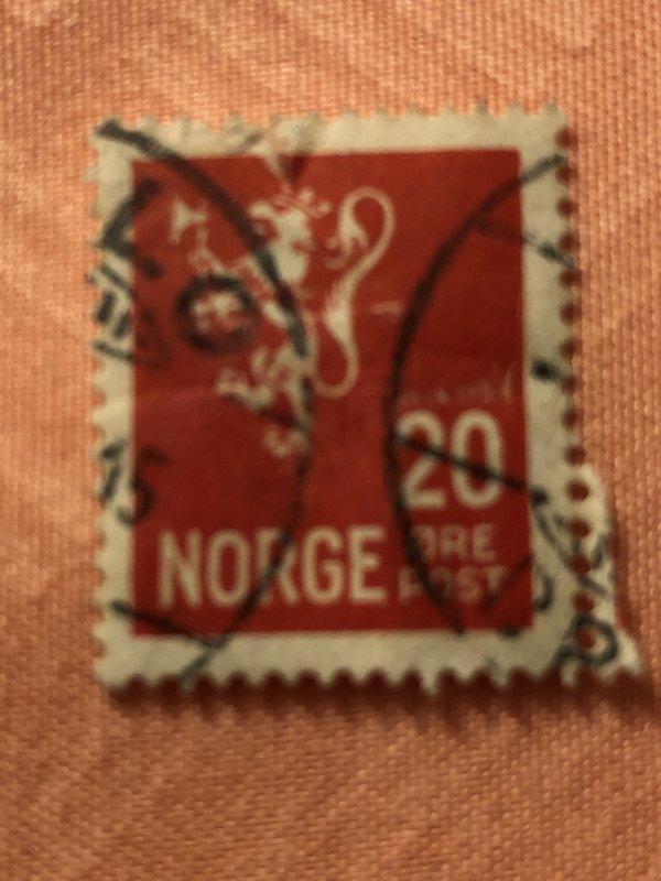 1927 Norway 20 Ore