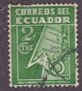Ecuador RA29 Postal Tax Stamp 1934
