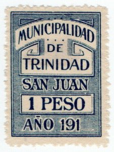 (I.B) Paraguay Revenue : Local Tax 1P (Municipalidad de Trinidad)