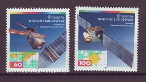 J24843 JLstamps 1991 germany set mnh #1642-3 europa