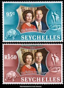 Seychelles Scott 309-31 Mint never hinged.