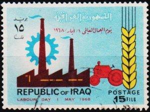 Iraq. 1968 15f S.G.802 Fine Used