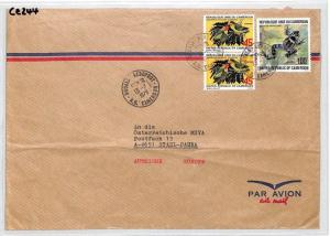 CE244 Cameroon FROGS Cover 1978 *BAMENDA* Air Mail DOUALA AEROPORT Transit MIVA